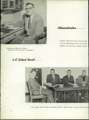 Page 10, 1957 Edition, Marshfield High School - Mahiscan Yearbook (Coos Bay, OR) online yearbook collection