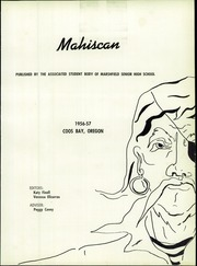 Page 5, 1957 Edition, Marshfield High School - Mahiscan Yearbook (Coos Bay, OR) online yearbook collection