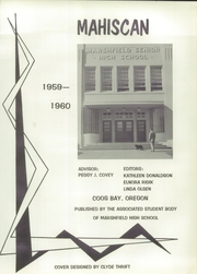 Page 5, 1960 Edition, Marshfield High School - Mahiscan Yearbook (Coos Bay, OR) online yearbook collection