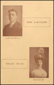 Page 11, 1911 Edition, Baker High School - Nugget Yearbook (Baker City, OR) online yearbook collection