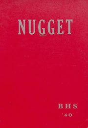 Page 1, 1940 Edition, Baker High School - Nugget Yearbook (Baker City, OR) online yearbook collection