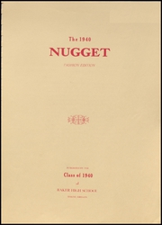 Page 3, 1940 Edition, Baker High School - Nugget Yearbook (Baker City, OR) online yearbook collection