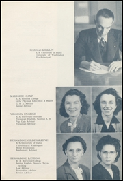 Page 13, 1946 Edition, Baker High School - Nugget Yearbook (Baker City, OR) online yearbook collection