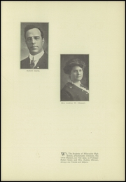Page 9, 1916 Edition, Milwaukie High School - Maroon Yearbook (Milwaukie, OR) online yearbook collection