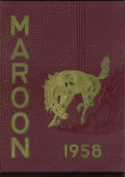 1958 Edition, Milwaukie High School - Maroon Yearbook (Milwaukie, OR)