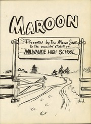 Page 7, 1958 Edition, Milwaukie High School - Maroon Yearbook (Milwaukie, OR) online yearbook collection