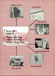 Page 3, 1980 Edition, Milwaukie High School - Maroon Yearbook (Milwaukie, OR) online yearbook collection