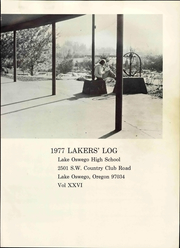 Page 9, 1977 Edition, Lake Oswego High School - Lakers Log Yearbook (Lake Oswego, OR) online yearbook collection