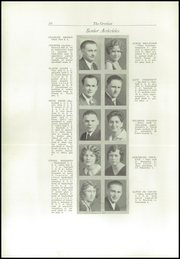Page 14, 1930 Edition, Cottage Grove High School - Lion Tracks Yearbook (Cottage Grove, OR) online yearbook collection