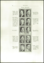 Page 16, 1930 Edition, Cottage Grove High School - Lion Tracks Yearbook (Cottage Grove, OR) online yearbook collection