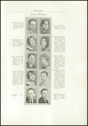 Page 17, 1930 Edition, Cottage Grove High School - Lion Tracks Yearbook (Cottage Grove, OR) online yearbook collection