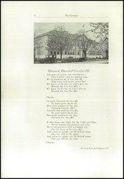 Page 8, 1930 Edition, Cottage Grove High School - Lion Tracks Yearbook (Cottage Grove, OR) online yearbook collection