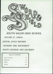 Page 3, 1981 Edition, South Salem High School - Sword and Shield Yearbook (Salem, OR) online yearbook collection