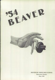 Page 5, 1954 Edition, Beaverton High School - Beaver Yearbook (Beaverton, OR) online yearbook collection