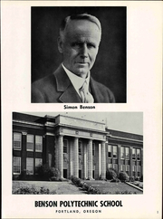 Page 7, 1967 Edition, Benson Polytechnic High School - BluePrint Yearbook (Portland, OR) online yearbook collection