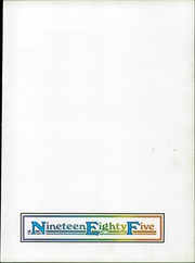 Page 3, 1985 Edition, Benson Polytechnic High School - BluePrint Yearbook (Portland, OR) online yearbook collection