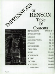 Page 6, 1985 Edition, Benson Polytechnic High School - BluePrint Yearbook (Portland, OR) online yearbook collection