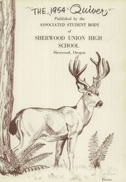 Page 5, 1954 Edition, Sherwood High School - Quiver Yearbook (Sherwood, OR) online yearbook collection