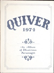 1974 Edition, Sherwood High School - Quiver Yearbook (Sherwood, OR)