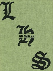 1972 Edition, La Grande High School - Mimir Yearbook (La Grande, OR)