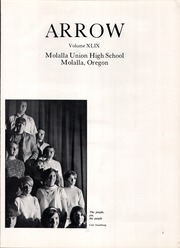 Page 5, 1969 Edition, Molalla Union High School - Arrow Yearbook (Molalla, OR) online yearbook collection