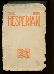 1919 Edition, Oregon City High School - Hesperian Yearbook (Oregon City, OR)