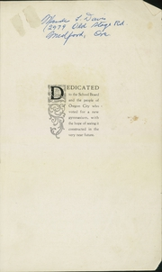 Page 3, 1920 Edition, Oregon City High School - Hesperian Yearbook (Oregon City, OR) online yearbook collection