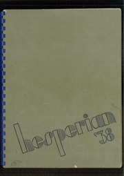 1938 Edition, Oregon City High School - Hesperian Yearbook (Oregon City, OR)