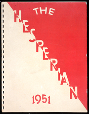 1951 Edition, Oregon City High School - Hesperian Yearbook (Oregon City, OR)