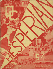 1954 Edition, Oregon City High School - Hesperian Yearbook (Oregon City, OR)