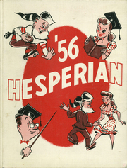 1956 Edition, Oregon City High School - Hesperian Yearbook (Oregon City, OR)