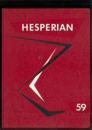 1959 Edition, Oregon City High School - Hesperian Yearbook (Oregon City, OR)