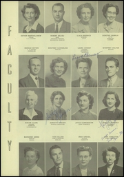 Page 16, 1951 Edition, Gresham High School - Munhinotu Yearbook (Gresham, OR) online yearbook collection