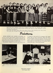Page 73, 1953 Edition, Springfield High School - Millers Log Yearbook (Springfield, OR) online yearbook collection