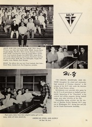 Page 75, 1953 Edition, Springfield High School - Millers Log Yearbook (Springfield, OR) online yearbook collection