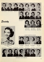 Page 79, 1953 Edition, Springfield High School - Millers Log Yearbook (Springfield, OR) online yearbook collection