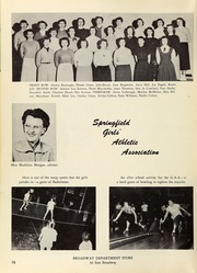 Page 82, 1953 Edition, Springfield High School - Millers Log Yearbook (Springfield, OR) online yearbook collection