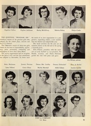 Page 85, 1953 Edition, Springfield High School - Millers Log Yearbook (Springfield, OR) online yearbook collection