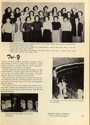 Page 87, 1953 Edition, Springfield High School - Millers Log Yearbook (Springfield, OR) online yearbook collection