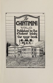 Page 5, 1922 Edition, Corvallis High School - Chintimini Yearbook (Corvallis, OR) online yearbook collection