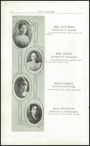 Page 16, 1920 Edition, Medford High School - Crater Yearbook (Medford, OR) online yearbook collection