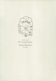 Page 9, 1927 Edition, Medford High School - Crater Yearbook (Medford, OR) online yearbook collection