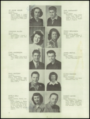 Page 16, 1945 Edition, Medford High School - Crater Yearbook (Medford, OR) online yearbook collection