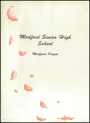 Page 8, 1954 Edition, Medford High School - Crater Yearbook (Medford, OR) online yearbook collection