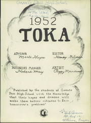 Page 5, 1952 Edition, Grants Pass High School - Toka Yearbook (Grants Pass, OR) online yearbook collection