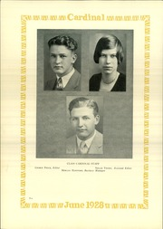 Page 14, 1928 Edition, Lincoln High School - Cardinal Yearbook (Portland, OR) online yearbook collection