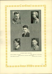 Page 15, 1928 Edition, Lincoln High School - Cardinal Yearbook (Portland, OR) online yearbook collection