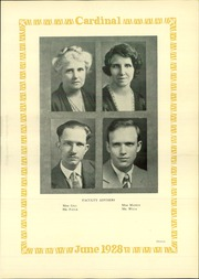 Page 17, 1928 Edition, Lincoln High School - Cardinal Yearbook (Portland, OR) online yearbook collection