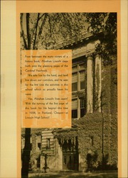Page 9, 1938 Edition, Lincoln High School - Cardinal Yearbook (Portland, OR) online yearbook collection