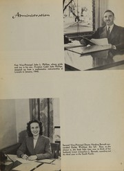 Page 11, 1945 Edition, Lincoln High School - Cardinal Yearbook (Portland, OR) online yearbook collection